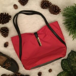 Kenneth Cole Reaction Red Tote (new w/o tag)